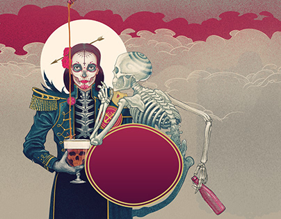 Gouden Carolus Dia de los muertos