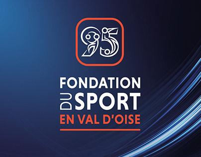 Fondation du Sport en Val d'Oise - Branding