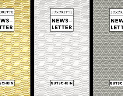 Luxorette Haustextilien Identity