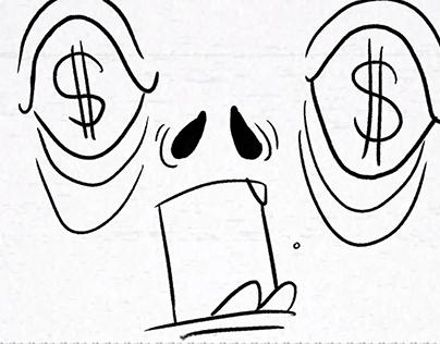 Charles Manson lip sync animation