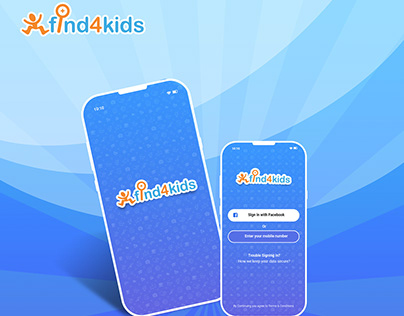 Find4kids - mobile app and Website