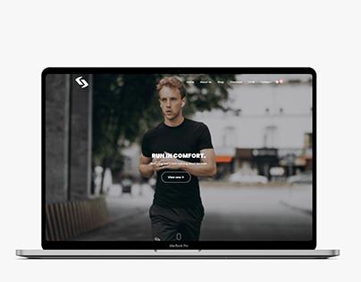 GRANDAU Website Design Mockup