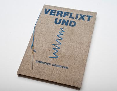 Handmade book cover - creative sewing ideas
