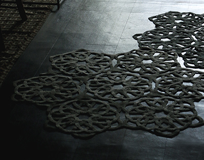 Floral Knot Rug 鬧花