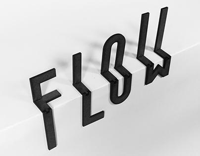 Laser cut Typeface