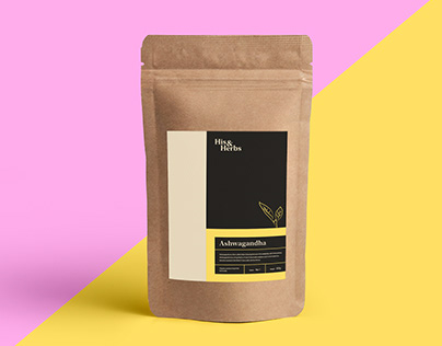 His&Herbs - Logo and Label Packaging