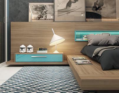 Dormitório Masculino | Boy Bedroom | Idélli 2016