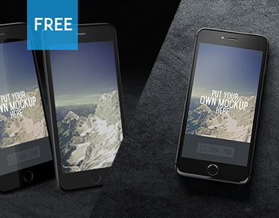 4 free iphone 6 mockups