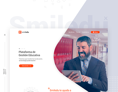 Website Smiledu - School