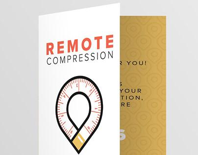 Remote Compression - Logo & Print Design