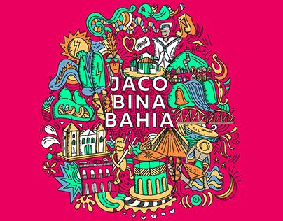 Ilustração Doodles Jacobina Bahia