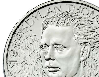 Dylan Thomas coin
