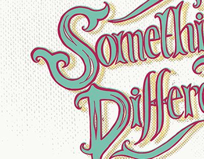 """Something Different"" logo design"