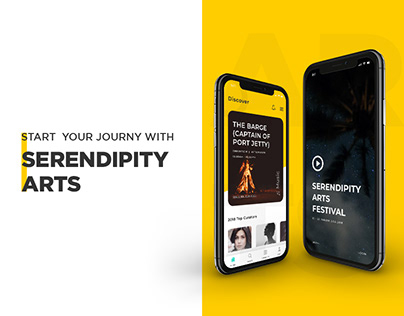 Serendipity Arts :: Mobile App Design