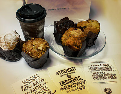 Talbot&Bons coffee cups & napkins