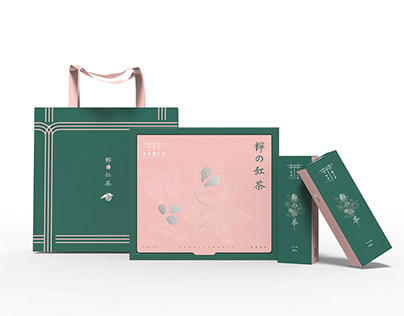 布衣遇上茶® | Lime Black TeaPackaging Design柠の红茶包装设计