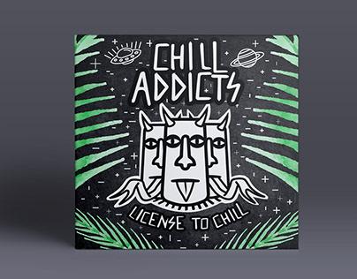 Diseño de CD Chill Addicts