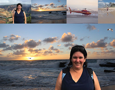 Image Manipulation + Composition – In Hawaii