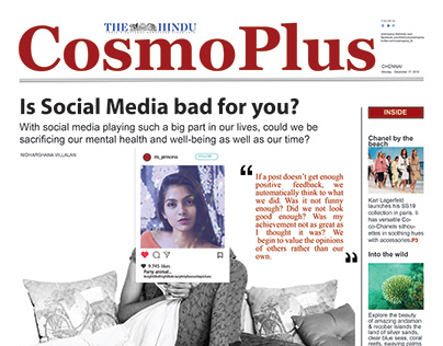 COSMO PLUS | NEWSPAPER DESIGN
