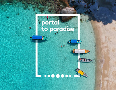 Marriott | Portal to Paradise | AR App & Installation