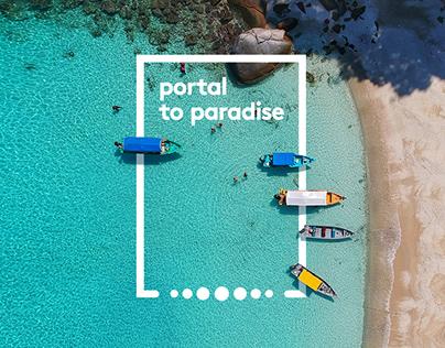 Marriott | Portal to Paradise |AR App & Installation