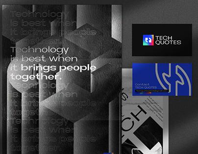 Tech Quotes Brand Identity