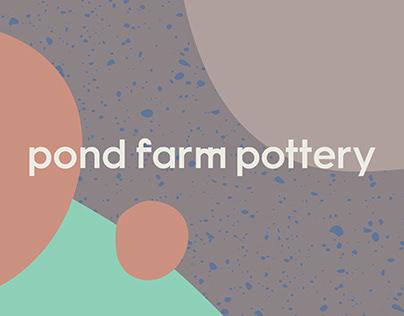 Pond Farm Pottery Brand Identity