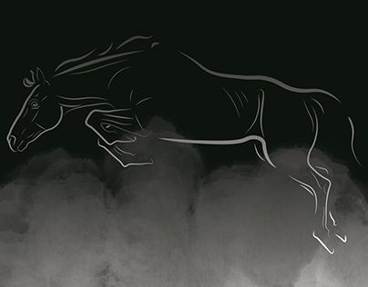 Horse Deluxe edition vector