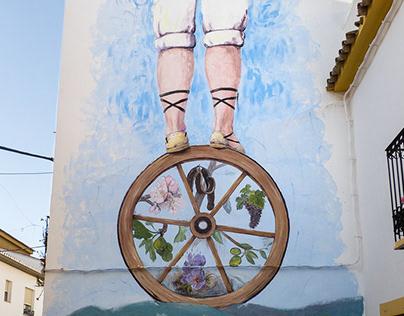 """Mural """"Equilibrio"""""""