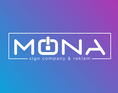 Mona Sign Company Brand Design