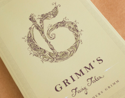 Grimm's Fairy Tales - Book Cover Illustration