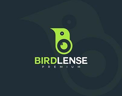 Bird Lense logo design