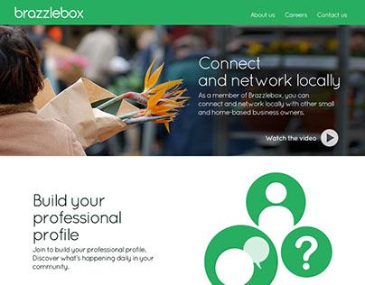 Brazzlebox Splashpage