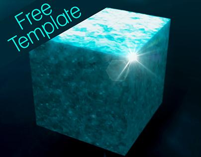 Cubic Blast - Free Template
