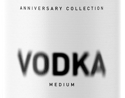 Double Vodka Packaging design