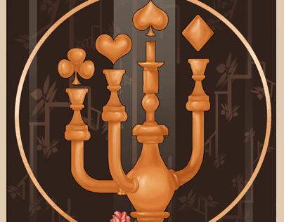"""Lucky hour """"ace card"""""""