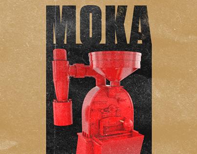 Moka Bros | Espresso Blend label