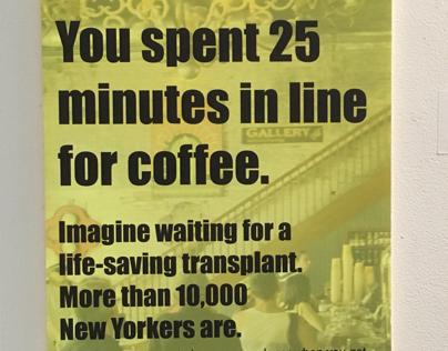 Organ Donation Subway Posters