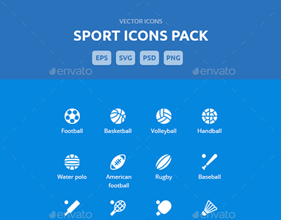 Sport - Vector Icons