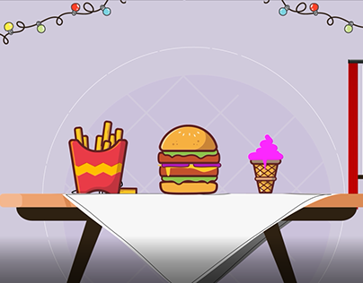 motion video for burger