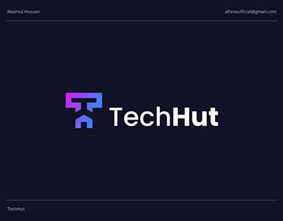 TechHut - Logo Design