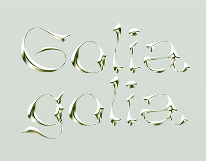 GoliaGolia Font