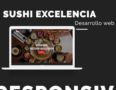 Sushi La Excelencia - Desarrollo Web