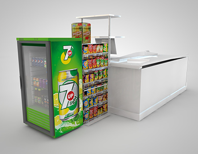Cash Counter Cooler