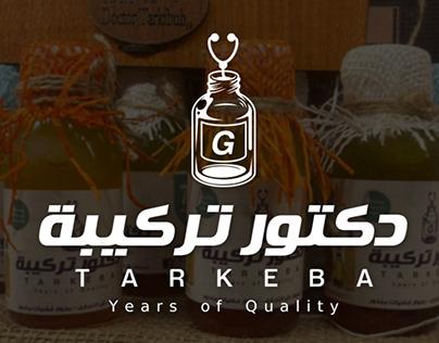 "Label of oil ""Dr-Tarkeba"" packages"