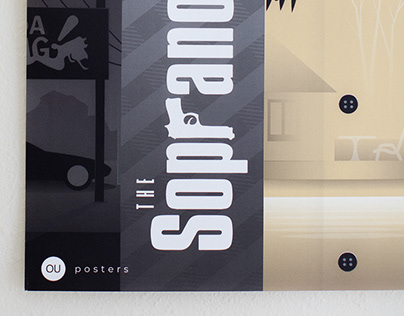OU Posters - The Sopranos