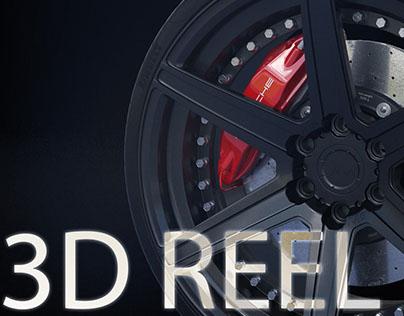 3D Student Modeling Reel
