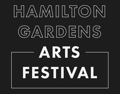 Hamilton Gardens Arts Festival 2014 - Logo