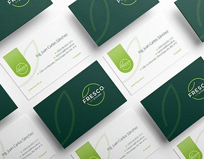 FRESCO FIT | Identity Design