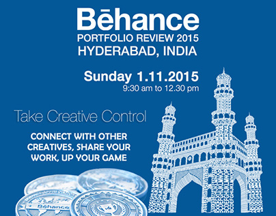 Behance Portfolio Review 2015 - Hyderabad